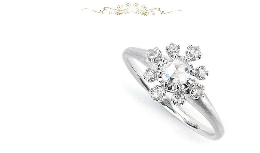 美の象徴、薔薇の名前を冠するダイヤモンド