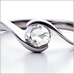 結婚指輪、婚約指輪の台座について
